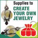 So many Jewelry craft supplies to choose from. beads, books, findings, tools....