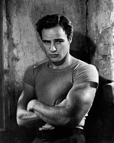 "Watched ""On the Waterfront""...a young Marlon Brando ((sighs))"