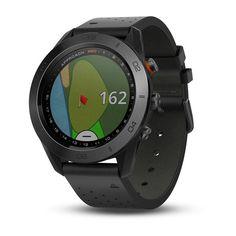 Garmin Approach Preloaded Golf Range Finder GPS Watch - Black (Pre-Owned) Smartwatch, Display Design, Golf Gadgets, Golf Sport, Golf Range Finders, Golf Gps Watch, Golf Apps, Golfer, Golf Accessories