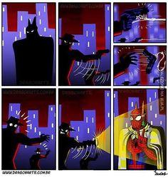 Z Batmanem nie ma ża... Ej, co ty robisz?