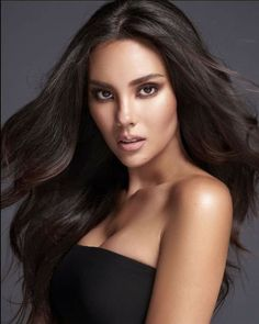 Miss Philippines Catriona Gray Miss Universe Philippines, Miss Philippines, Pageant Headshots, Miss World, Beauty Pageant, Grey Fashion, Beauty Queens, Gorgeous Women, Makeup Looks