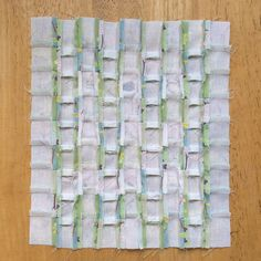 10. Sew the rows together and then press the seams open.