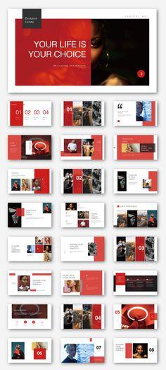 Creative Fashion Resume Presentation Template – Original and high quality PowerPoint Templates downl Slide Design, Design Web, Page Design, Resume Design, Design Layouts, Resume Layout, Creative Web Design, Powerpoint Design Templates, Keynote Template