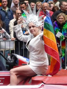 Cyndi Lauper SF Gay Pride 2008....love, love, love her!