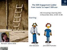 From expert to novice OER user: the OER Engagement Ladder