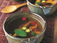 This simple soup is packed with flavor.