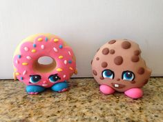 Fondant Shopkins from Mya's cake