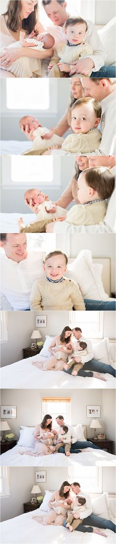 A Sweet Baby Sister | Fairfax Newborn Photographer | Bethadilly Photography