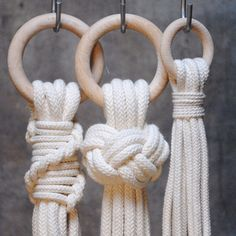 "49 Likes, 6 Comments - Anna & Monica (@frostadesign) on Instagram: ""Knots #frostadesign #macrame #makrame #vallgatan"""