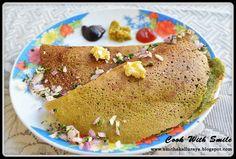 Breakfast Crepes, Dosa Recipe, Veg Recipes, Food Lists, Diet, Cooking, Ethnic Recipes, Desserts, Recipe List