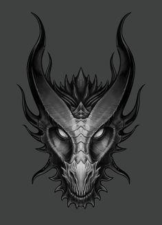Spitfyah Dragon Head - Lawrence Mann – Digital Artist