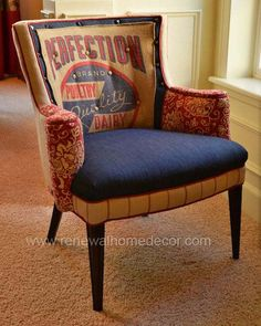 Vintage accent chair Perfection Chair SOLD by ReNewalHomeDecor, $1,100.00