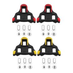 2fc42fdda78d PROMEND PS-M01 6 Degrees Lock Plate Bicycle Pedals Self-Locking Cleats Road  Bike Shoes Cleats  M01  Degrees  Locking  Cleats  Road  Lock  Bike  Self   Pedals ...