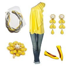 Screaming summer! i love the yellow