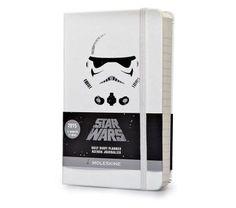 12mois - Agenda journalier Star Wars - Format poche - Couverture rigide blanche