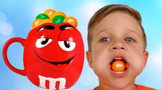 Learn Colors with Bad Kid M&M's сandy, Baby Finger Family Nursery Rhymes Song for kids сolours    {{AutoHashTags}}