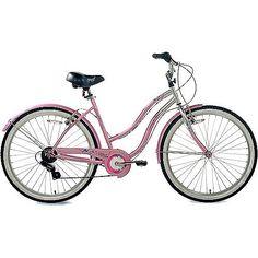 """Susan G. Komen Multi-Speed 26"""" Women's Cruiser Bike"""