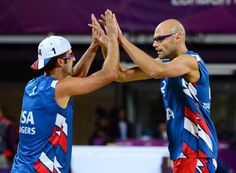 Todd Rogers and Phil Dalhausser, US mens beach volleyball team and a favorite for gold!