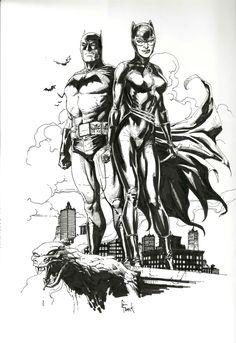 Catwoman and Batman Gary Frank Comic Art Batman Love, Im Batman, Batman Robin, Batman Artwork, Batman Comic Art, Batman Comics, Catwoman Y Batman, Catwoman Cosplay, Batgirl