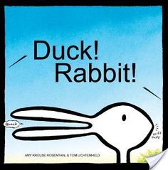 Duck Rabbit!   SLP Book Nook Teach kids that people can have varying points of view and still get along! Great books for teaching young kids social skills. #Socialskills#SLPbooks#Speechtherapyideas#Speechtherapybooks#Teachingsocialskills#Childrensbookrevies#Childrensbooks#Booksforspeechtherapy#Slpideas