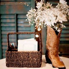 decorate with cowboy boots, cowboy hat, etc. in Maxon's size