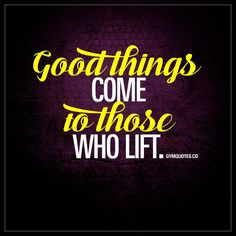 Good things come to those who lift - Fitish Shirt - ideas of Fitish Shirt - Good things come to those who lift. Workout Memes, Gym Memes, Gym Humor, Workout Qoutes, Bodybuilding Workouts, Bodybuilding Motivation, Fitness Quotes, Fitness Goals, Fitness Binder