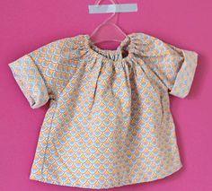 DIY : Une blouse pour bébé facile   I love DIY blog mode, bon plans et DIY