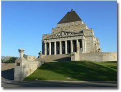 Melbourne has such a huge and diverse array of architecture. The Shrine of Remembrance is definitely an important landmark to visit if you're a newly arrived backpacker Melbourne. After a day of activities rest your head at the comfortable, clean and affordable inner city hostel - the Drop Bear Inn.   http://dropbearinn.com.au/