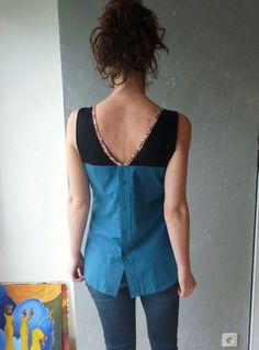 Robe avec vieille chemise