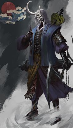 ArtStation - Superb martial arts of the Ninja, Xiaojian liu