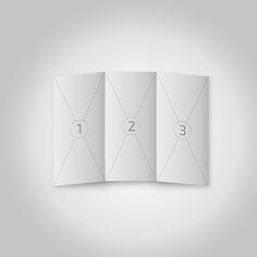 Free A4 Trifold Brochure Mockup (6.68 MB) By Abdullah Ghatasheh on Behance | #free #photoshop #mockup #psd #a4 #trifold #brochure