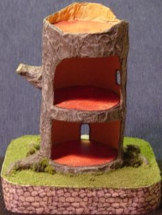 Stump House Project from Laura Miller in 1-144 scale (or 1:120)