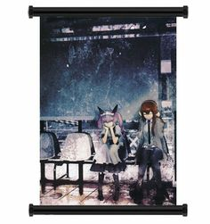 Steins; Gate Anime Fabric Wall Scroll Poster (32x44) Inches