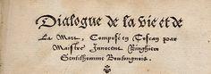 lettre de civilité - gothique