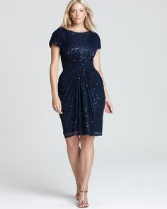 27 Plus Size Party Dresses {with Sleeves