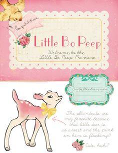 Little Bo Peep // @Crate Paper has me smiling SO big!! :)