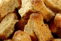 South African Rusks.  A rusk is a very hard and very dry biscuit that was often made by the Dutch travelers. They are very much without moisture and as such will travel well. #cooking #recipes #food #southafrica #rusks