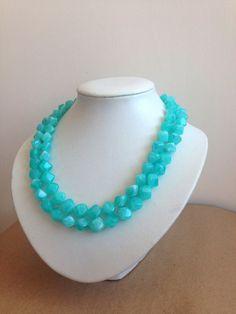 Tiffany Blue Necklace