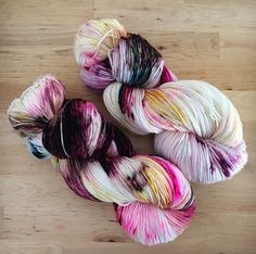 A personal favorite from my Etsy shop https://www.etsy.com/listing/464070627/hand-dyed-yarn-superwash-merino