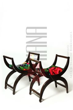 ro traditional romanian furniture and hand made textile Wooden Garden Swing, Garden Swing Seat, Curved Outdoor Benches, Outdoor Chairs, King Chair, Outdoor Wicker Furniture, Bathroom Fixtures, Romania, Furniture Ideas