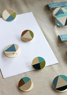wooden clips by Ferm Living