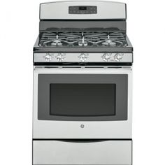 GE Review 2016 | Stainless Steel Gas Range