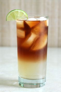 Dark 'n' Stormy cocktail recipe with Gosling's Black Seal Rum and ginger beer