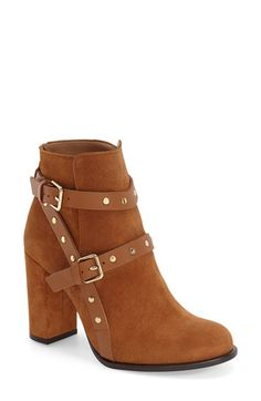 Topshop| 'Harriett' Stud Strap Boot //