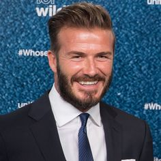 Pin for Later: B-Day Boy David Beckham Congratulates the Royals on Their New Princess