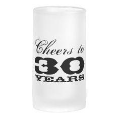 Personalized Retirement Glass Beer Mug Gift Idea