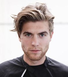 Men's+Medium+Blonde+Hairstyle