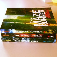 The Maze Runner series. One of the most creative series I have ever read.