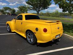 attachment.php (1000×750) Old Classic Cars, Classic Trucks, Chevy Ssr, Rick Hendrick, Ultimate Garage, Chrysler Pt Cruiser, Yellow Car, S Car, Custom Trucks