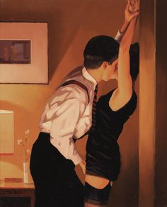 """Game On"" by  Jack Vettriano (2016)"